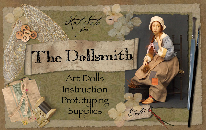 The Dollsmith - Art Dolls, Doll making Supplies & Instruction, Prototyping Services