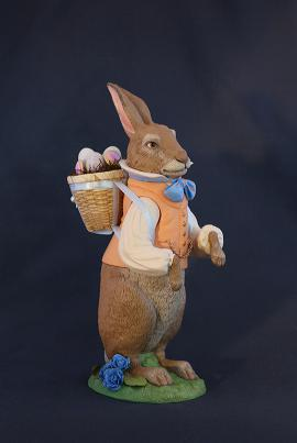 Spring Bunny Orange